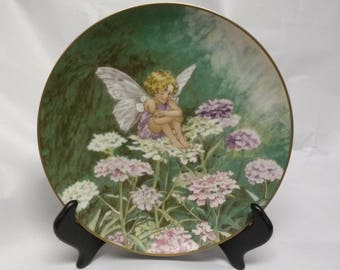 The Candytuft Fairy Collectors Plate
