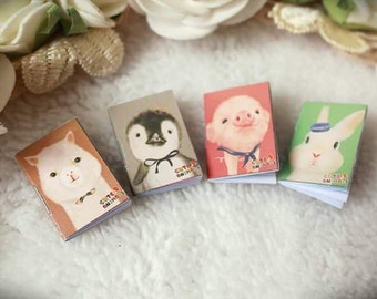 Mini note book for doll