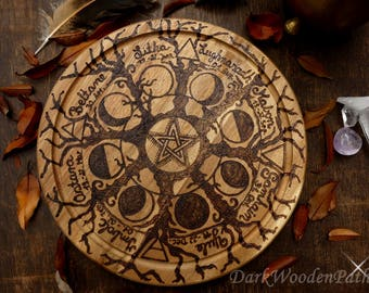 Wheel of the year ~ Forest Magic ~ pagan wheel