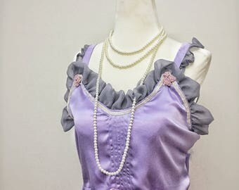 The Esther-Rose, Vintage, style, silk, artdeco, 1920s, nightgown,