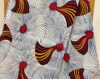White African print fabric wholesale 6 yards African wax print fabric Ankara fabric African materials