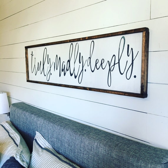 Above the bed sign free shipping - Over the bed art ...