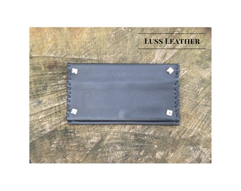 Tobacco Pouch Rock Style -  Handmade in Italy