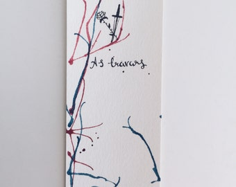 A Darker Shade of Magic - V. E. Schwab Watercolor Bookmark
