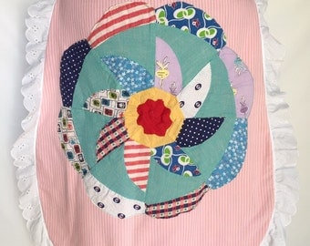 Whimsical reversible childrens cape