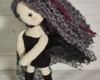 Lovely knitted informal doll