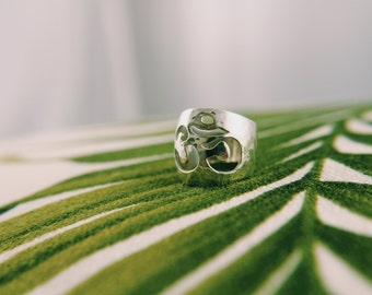 Chunky Om Ring