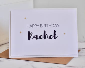 Birthday Card - Custom - Greeting card - Celebration