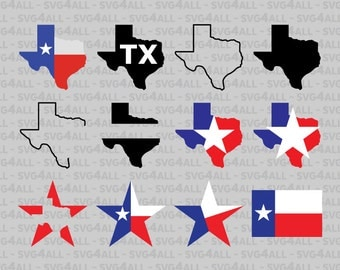 SVG, DxF, PNG, Eps, PDF Files, Texas Svg Files, Texas Monogram Svg, Texas Split Svg, Texas Split Flag Map Svg, Texas Map, Instant Download