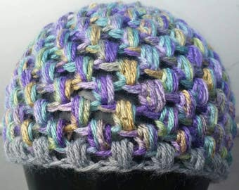 Child Puff Hat - Pick Your Pattern