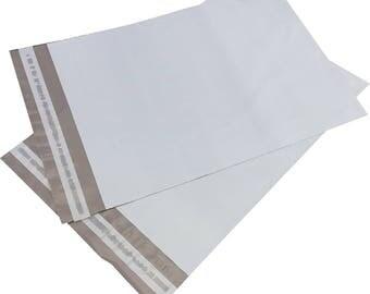 "100 Poly Mailers 12"" x 15.5"" Self Sealing Shipping Envelope"