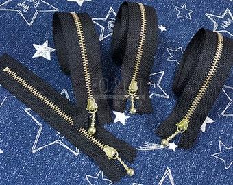 40-12cm Zippers| YKK metal Ball Fastener zippers