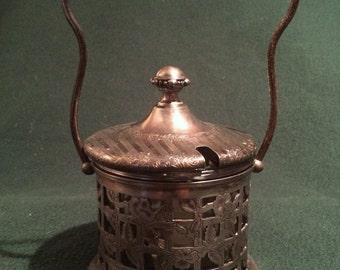 Antique Superior Silver Plate Co. Jam Server