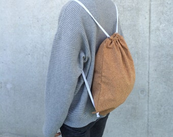 Cork gym bags, backpack, Cork leather, vegan leather