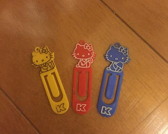 1976 vintage super rare hello kitty clips from sanrio japan