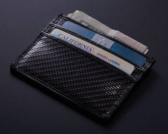 Real Carbon Fiber Wallet // Card Holder // Luxury Mens Accessories //