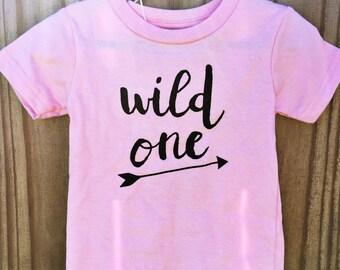 Wild One T-Shirt- wild one, wild child, wild one shirt, wild one bodysuit, wild child shirt, wild child bodysuit
