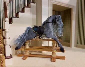 Miniature Rocking Horse 1:12 scale