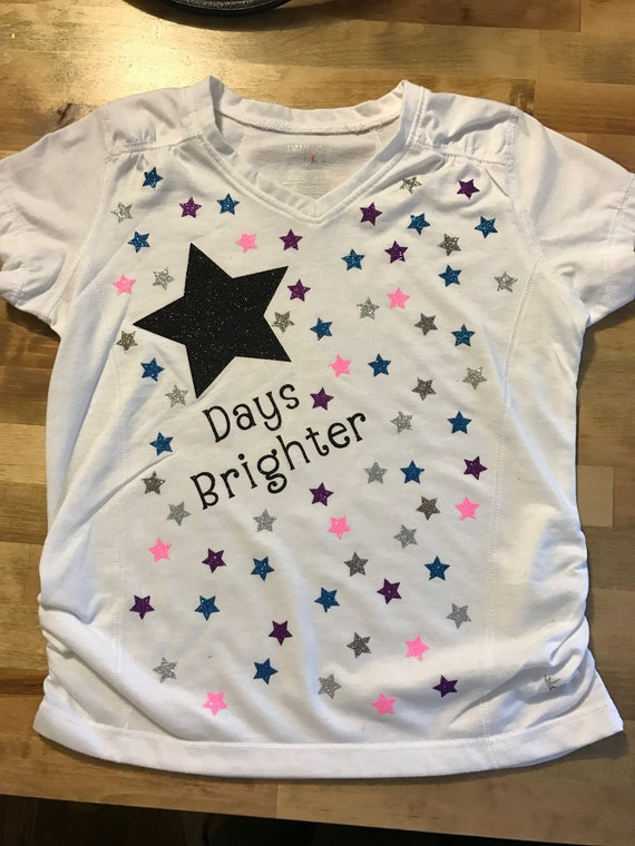 Items Similar To 100 Days Of School Brighter Stars T Shirt