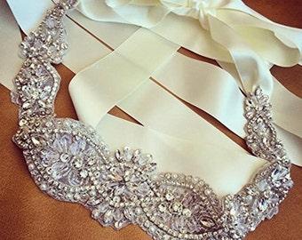 Wedding Sash, Wedding Belt, Wedding gown Sash and Belt, Bridal Sash Belt, Crystal belt, Rhinestone Belt, Pearl Belt, Bridal Gown Belt