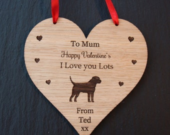 Border Terrier Valentine's Day Gift, Valentine's Gift for Dog Lovers, Valentine's Border Terrier Gift, Valentine's Gift from the Dog,Terrier