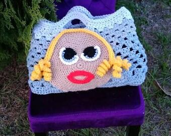 Crochet Cute Face Bags