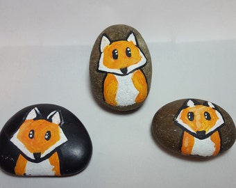 Fox Pet Rock