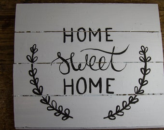 Home Sweet Home wall hanging