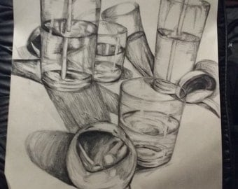 Glasses of water study