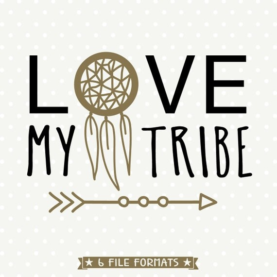Download Tribal Vector Art Family DXF Love My Tribe SVG Commercial