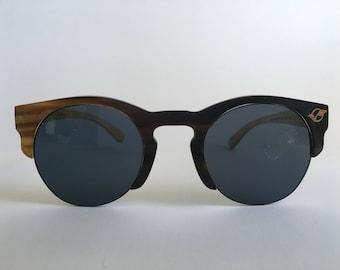 """Sunglasses (Polarized) - """"Carrington"""" (Dark) - Luxury Eyewear"""