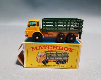 Matchbox Stake Truck with Box