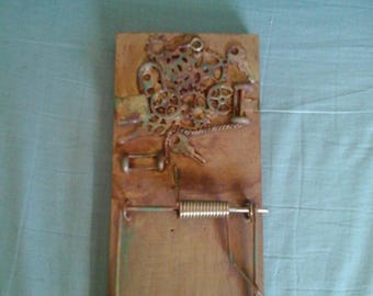 Steampunk Magnetic Mini Clipboard