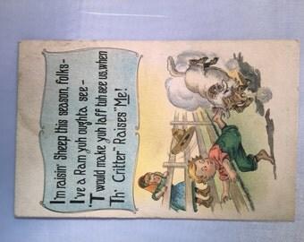 Vintage 1910 Postcard