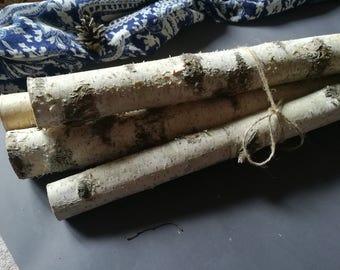 White Wood logs. Birch sticks. Decor for fireplace. Craft birch. White birch logs. Decoration birch. Logs for decoration. Craft logs