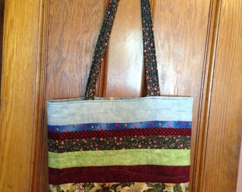 Homemade Quilted Bag