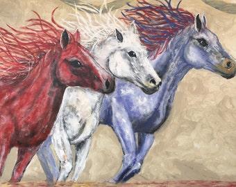 Freedom, original painting