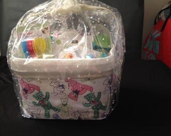 Newborn Baby Storage Basket