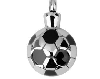 Soccer Ball Cremation Urn Pendant