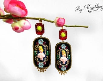 Alice's earrings by Mouchkine / bohochic, trendy and fun jewel