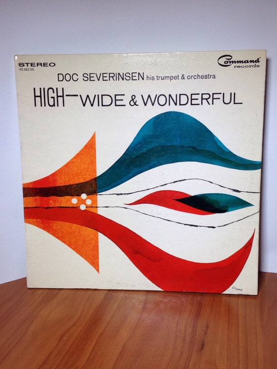Doc Severinsen His Trumpet & Orchestra * High - Wide and Wonderful Vinyl Record