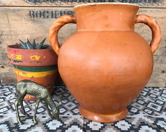 Vintage Prohibition Era Coors Pottery Double Handled URN