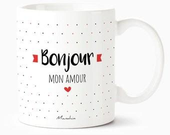 Hello my love, Valentine's day, Valentines Day gift mug mug