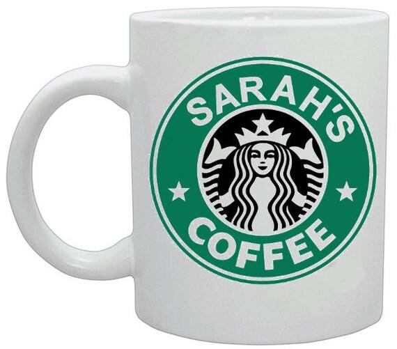 Personalised StarBucks Coffee Mug Brand New