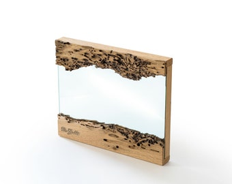Mirror (Frame And Backing) in Briccola Wood