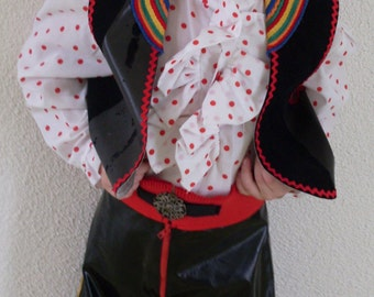Boy mariachi costume, ref: p7, in size 5/6 years.