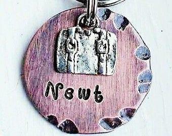 Pet ID - Dog Tag - Pet Accessories - Collar Tag - Pets - Pet Tag - Metal ID - Custom ID Tag - Personalized Pet Tag - Fantastic Beasts