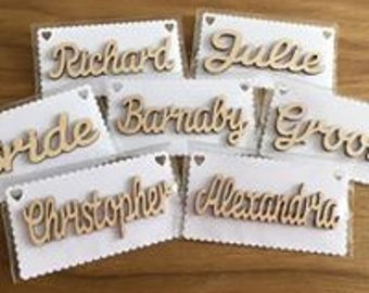 PERSONALISED NAME CARDS