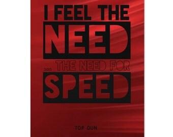 Movie Quote Wall Art Top Gun Digital Download