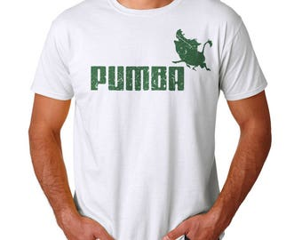 Pumba Men's White T-shirt